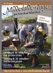 Middelalderdage på Vitskøl Kloster @ Vitskøl Kloster | Ranum | Danmark