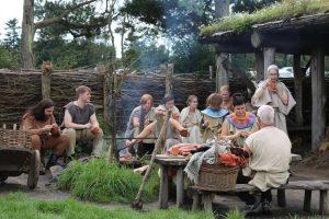 Aflyst - Hvolris Oldtidsmarked 2020 @ Hvolris Jernalderlandsby | Møldrup | Danmark