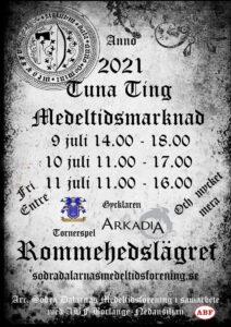 Tuna Ting Medeltidsmarknad 21' @ Rommehedslägret | Dalarnas län | Sverige