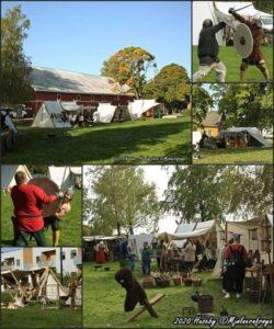Huseby vikingmarked 2021 @ Skedsmo Bygdemuseum Huseby | Viken | Norge