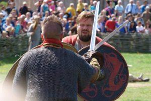 Vikingekrigere på Ribe VikingeCenter @ Ribe Vikingecenter | Ribe | Danmark