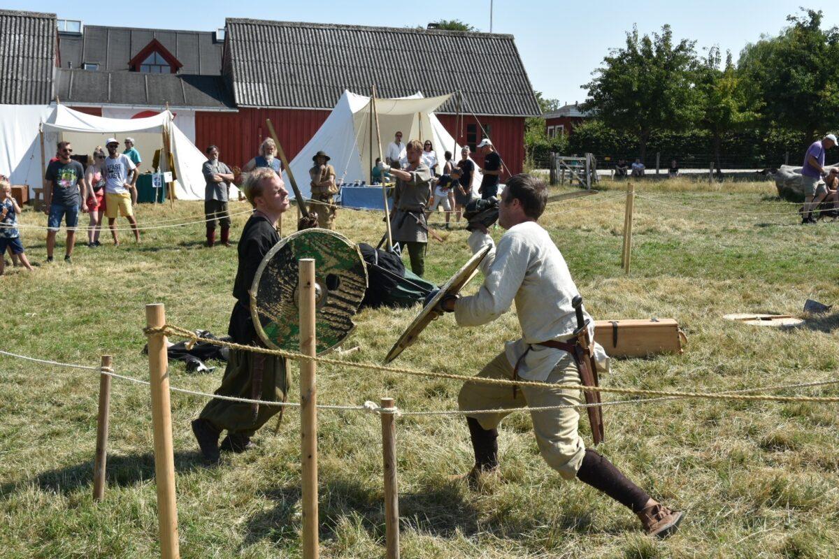 Vikingmarked på Grantoftegaard